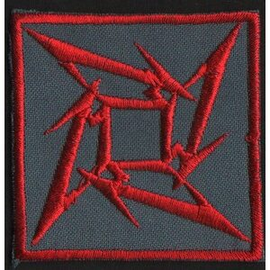 "METALLICA ""Red Logo II"" /Patch/"