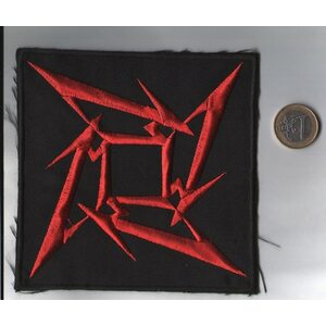 "METALLICA ""Red Logo"" /Backpatch/"