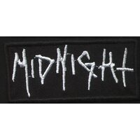 "MIDNIGHT ""Logo"" /Patch/"