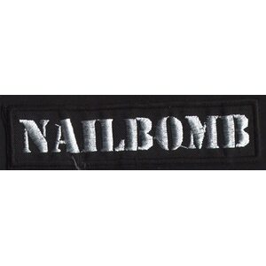 "NAILBOMB ""Logo"" /Patch/"