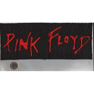 "PINK FLOYD ""Red Logo"" /Backpatch/"