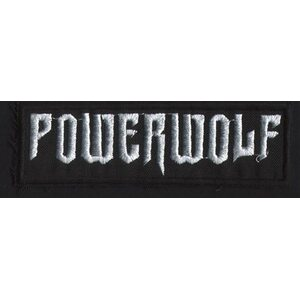 "POWERWOLF ""Logo"" /Patch/"