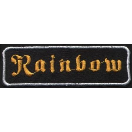 "RAINBOW ""Yellow Logo"" /Patch/"