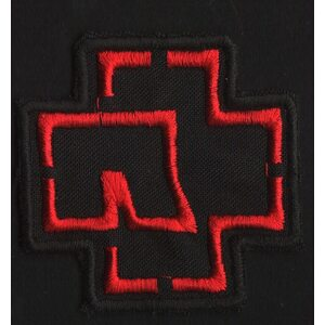 "RAMMSTEIN ""Red Logo"" /Cut Out Patch/"