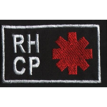 """RED HOT CHILI PEPPERS """"Logo"""" /Patch/"""