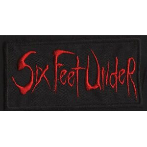"SIX FEET UNDER ""Red Logo"" /Patch/"