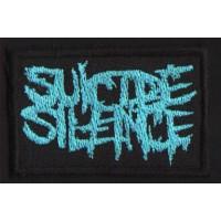 "SUICIDE SILENCE ""Blue Logo"" /Patch/"