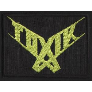 "TOXIK ""Medium Green Logo"" /Patch/"