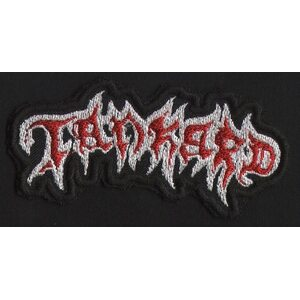 "TANKARD ""Red Logo"" /Cut Out Patch/"