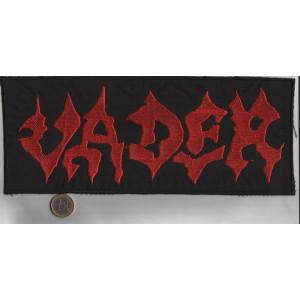 """VADER """"Red Logo"""" /Backpatch/"""