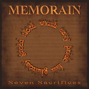 "MEMORAIN ""Seven Sacrifices"" /Digital LP/"