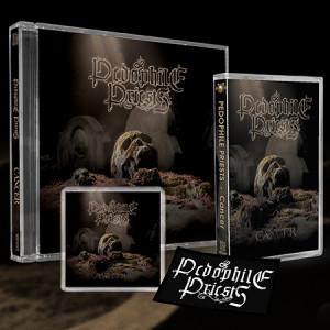 "PEDOPHILE PRIESTS ""Cancer"" /Ltd. CD + MC + Patch + Magnet Box Set/"