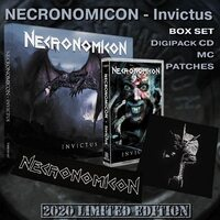 "NECRONOMICON ""Invictus"" /Box Set/"