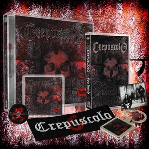 "CREPUSCOLO ""You Tomb"" /Ltd. CD + Patch + MC + Magnet + Keychain + Pin + Sticker Box Set/"