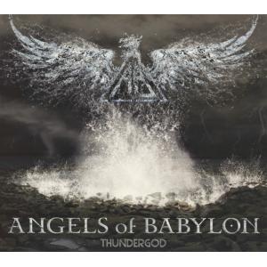 """ANGELS OF BABYLON """"Thundergod"""" /Digipack CD/"""