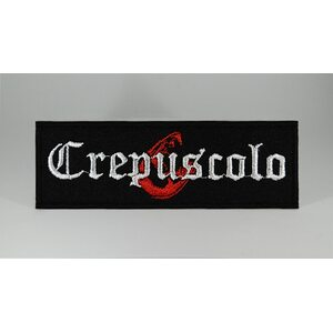 "CREPUSCOLO ""Logo"" /Patch/"
