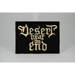 "DESERT NEAR THE END ""Logo"" /Patch/"