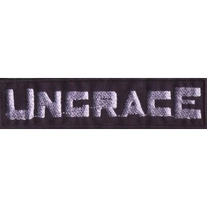 "UNGRACE ""Logo"" /Patch/"