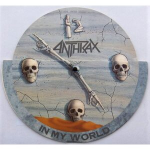 "ANTHRAX ""In My World"" /Ltd. 10"" Single/"