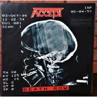 "ACCEPT ""Death Row"" /2LP/"