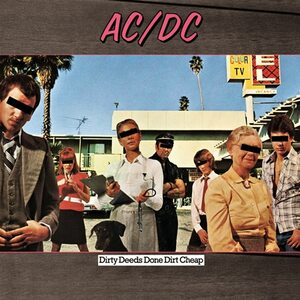 "AC/DC ""Dirty Deeds Done Dirt Cheap"" /LP/"