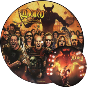"""DIO & FRIENDS """"'Stand Up And Shout' For Cancer"""" /Ltd. Picture 12"""" EP/"""