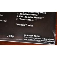 """GUERRA TOTAL """"Antichristian Zombie Hordes"""" /Ltd. LP/"""