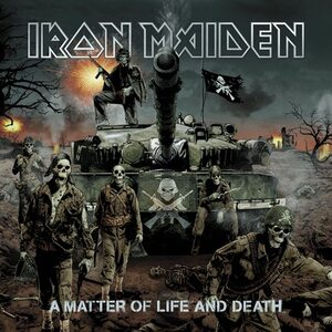 "IRON MAIDEN ""A Matter Of Life And Death"" /Ltd. 2LP/"