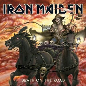 "IRON MAIDEN ""Death On The Road"" /2LP; Live/"