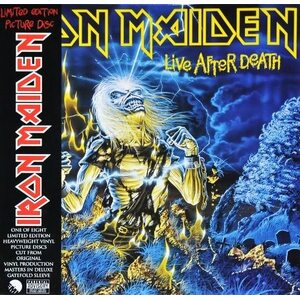 "IRON MAIDEN ""Live After Death"" /Ltd. Picture 2LP; Live/"