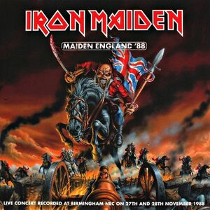 "IRON MAIDEN ""Maiden England '88"" /Ltd. Picture 2LP; Live/"