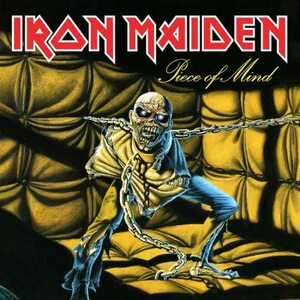 "IRON MAIDEN ""Piece Of Mind"" /GLP/"