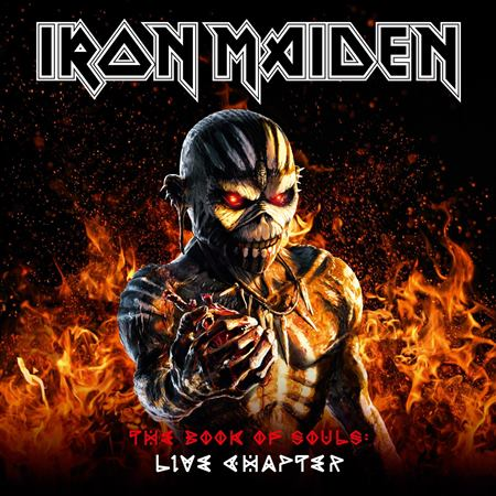 "IRON MAIDEN ""The Book Of Souls: Live Chapter"" /3LP; Live/"