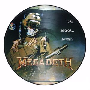 "MEGADETH ""So Far, So Good… So What!"" /Ltd. Picture LP/"