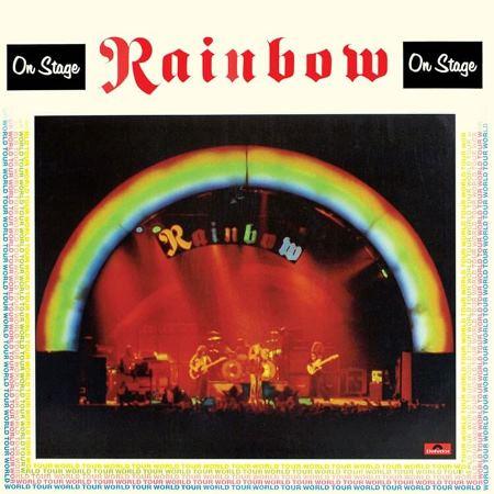 """RAINBOW """"On Stage"""" /2LP; Live/"""