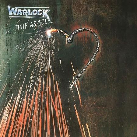 """WARLOCK """"True As Steel"""" /LP/"""