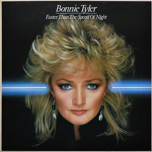 """BONNIE TYLER """"Faster Than The Speed Of Night"""" /LP/"""
