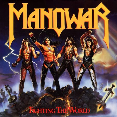"MANOWAR ""Fighting The World"" /LP/"