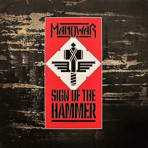 "MANOWAR ""Sign Of The Hammer"" /LP/"