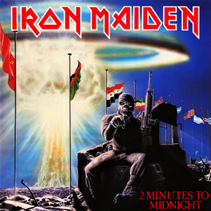 "IRON MAIDEN ""2 Minutes To Midnight"" /Ltd. 7"" Single/"