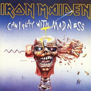 "IRON MAIDEN ""Can I Play With Madness"" /Ltd. 7"" Single/"