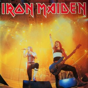 "IRON MAIDEN ""Running Free"" /Ltd. 7"" Single; Live/"