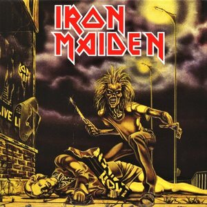 "IRON MAIDEN ""Sanctuary"" /Ltd. 7"" Single/"