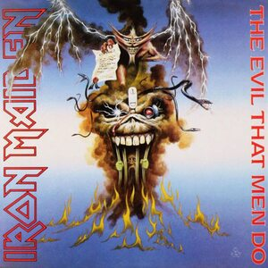 "IRON MAIDEN ""The Evil That Men Do"" /Ltd. 7"" Single/"