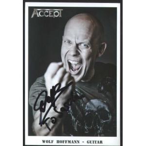 ACCEPT /Autographed Cards/