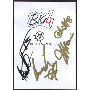 ARCH ENEMY /Autographed Card/