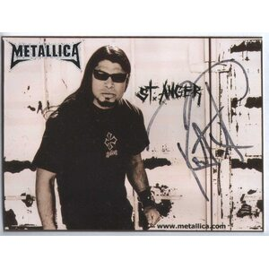"METALLICA ""Robert Trujillo"" /Autographed Card/"