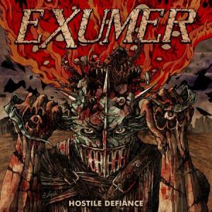 "EXUMER ""Hostile Defiance"" /Autographed LP + Poster/"