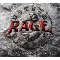 "RAGE ""Carved In Stone"" /Autographed Ltd. Digipack CD + DVD/"