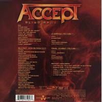 "ACCEPT ""Blind Rage"" /Ltd. CD + BRD + DVD + 2x Picture 7"" EP + Flag + Pin + Cards Box Set/"